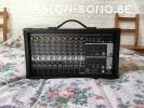 Behringer PMP2000D (Sono)/PPA2000BT (Mélangeur)/Ecran Pop-up